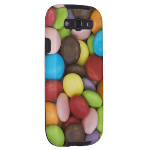 smarties background Galaxy S case Galaxy S3 Cover