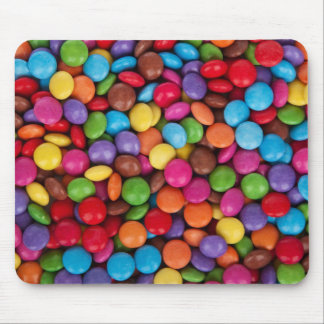 Smarties Multicoloured Sweets Mouse Pad