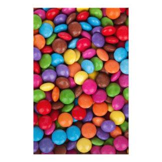 Smarties Multicoloured Sweets Custom Stationery