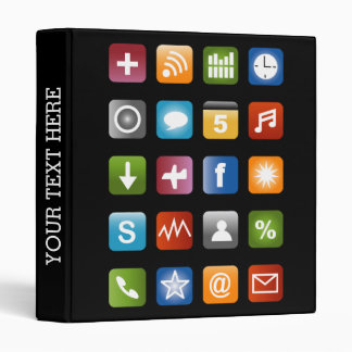 Smartphone app icon binder | School supplies