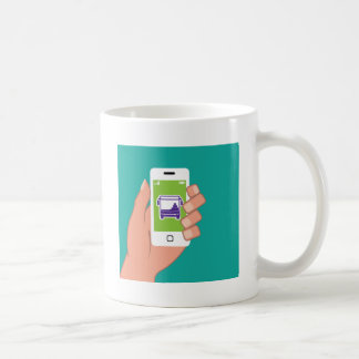 Smartphone application Bus service Online Classic White Coffee Mug