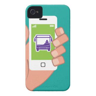 Smartphone application Bus service Online iPhone 4 Case-Mate Case