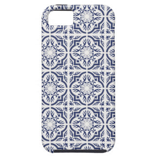 Smartphone case with Azulejo pattern
