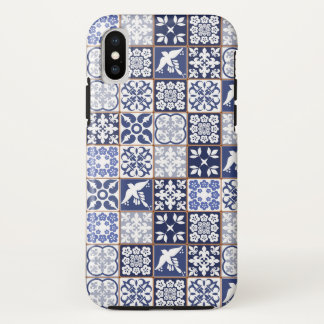 Smartphone case with Azulejo pattern