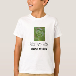 smartur-tshirt-Maths&ArtsisNature T-Shirt