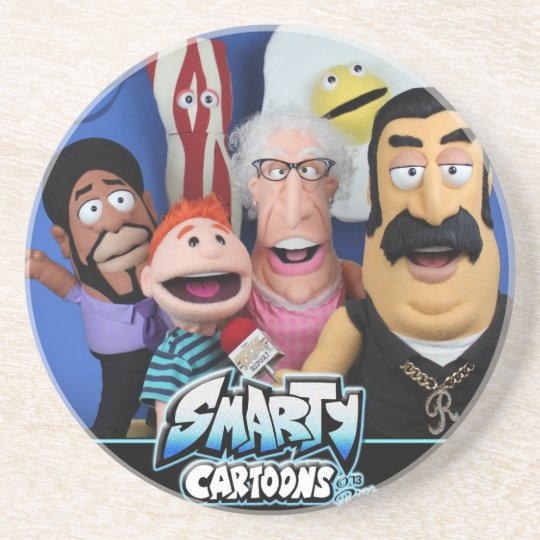 Smarty Cartoons Puppets Coaster