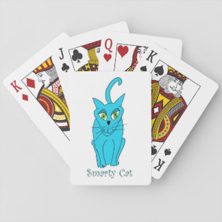 Smarty Cat Playing Cards