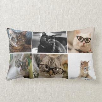 Smarty Cats Lumbar Throw Pillow