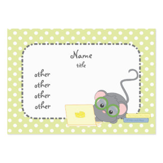 Smarty Mouse Business Card Templates