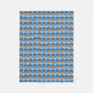 Smarty Owl Blankie Fleece Blanket