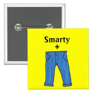 Smarty pants button