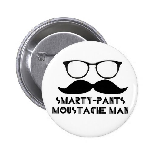 Smarty Pants Pinback Buttons