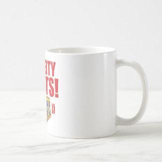 Smarty Pants Flowery Coffee Mug