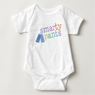 Smarty Pants Funny Baby Bodysuit