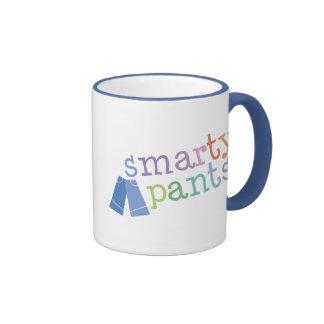 Smarty Pants Funny Ringer Coffee Mug