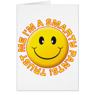 Smarty Pants Trust Me Smile Cards