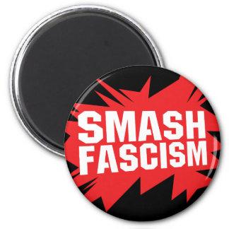 Smash Fascism Magnet