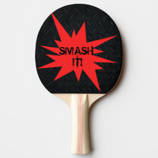 Smash It! Reversible Funny Ping Pong Paddle
