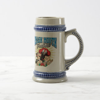 Smash Mouth Football Beer Stein