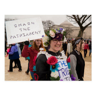 Smash the Patriarchy Postcard