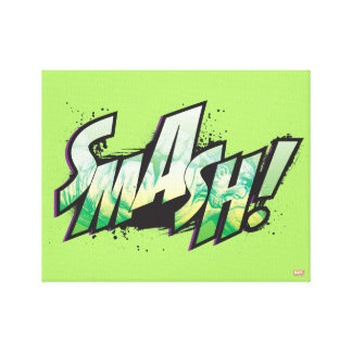 SMASH! Word Graphic Canvas Print