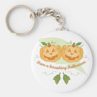 Smashing Halloween Basic Round Button Keychain
