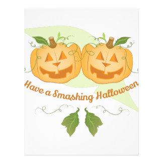 Smashing Halloween Letterhead