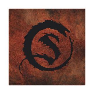 SMAUG™ Logo Stretched Canvas Print