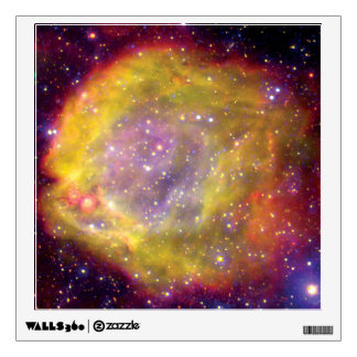 SMC WR7 Binary Star Nebula - Hubble Space Photo Wall Sticker