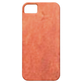smear of orange iPhone 5 cases