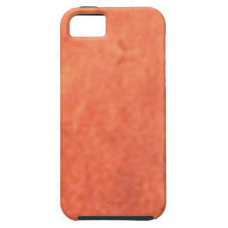 smear of orange iPhone 5 covers