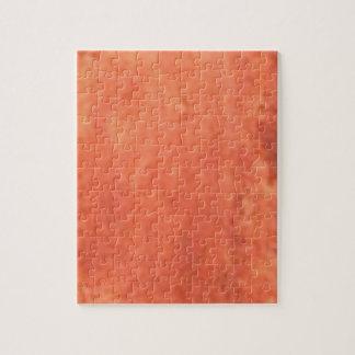 smear of orange jigsaw puzzle