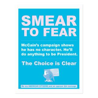Smear to Fear Postcard