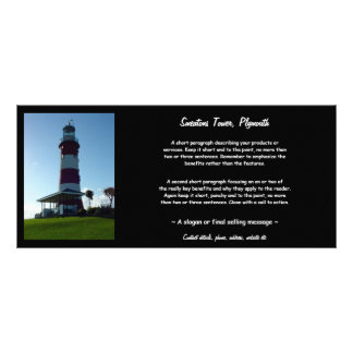 Smeaton's Tower, Plymouth Hoe Full Colour Rack Card