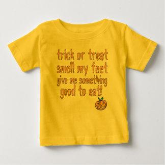 Smell My Feet - bebe yellow Baby T-Shirt