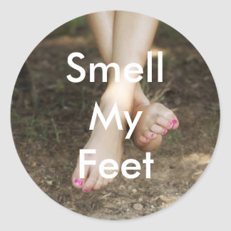 Smell My Feet Stickers