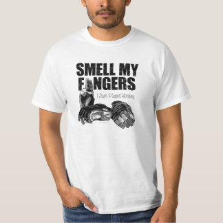 Smell My Fingers (hockey) Shirts