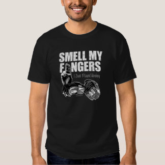 Smell My Fingers (hockey) T Shirts
