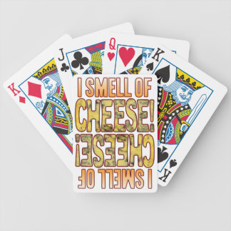 Smell Of Blue Cheese Poker Deck