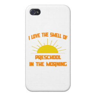 Smell of Preschool in the Morning Cases For iPhone 4