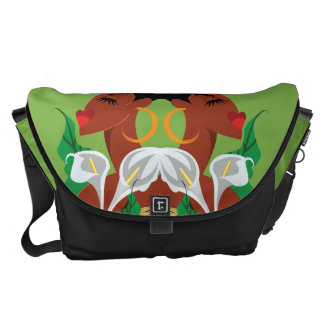 SMELL THE FLOWERS Messenger Bag