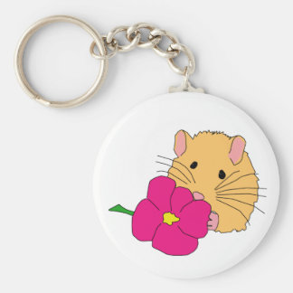 smell the roses keychain