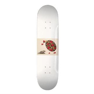 Smell the Roses Skate Board