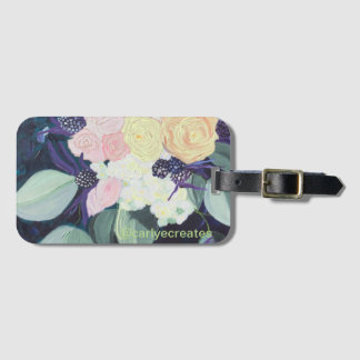 Smelling the Roses Luggage Tag