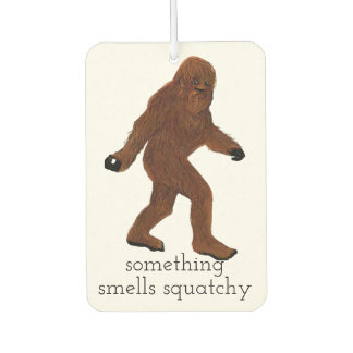 Smells Squatchy Air Freshener