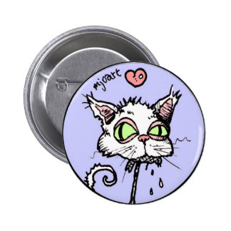 Smelly Cat 2 Inch Round Button