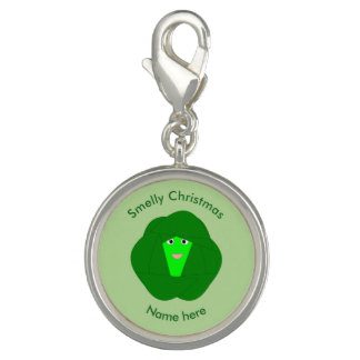 Smelly Christmas Brussels Sprout Charm