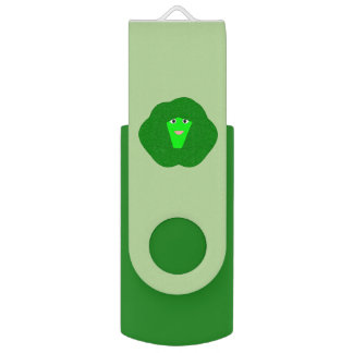 Smelly Christmas Brussels Sprout Custom USB Drive