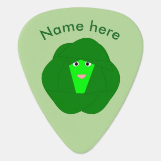 Smelly Christmas Brussels Sprout Guitar Pick