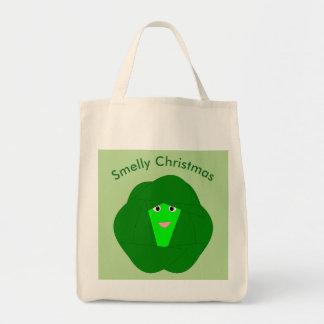 Smelly Christmas Brussels Sprout Tote Bag